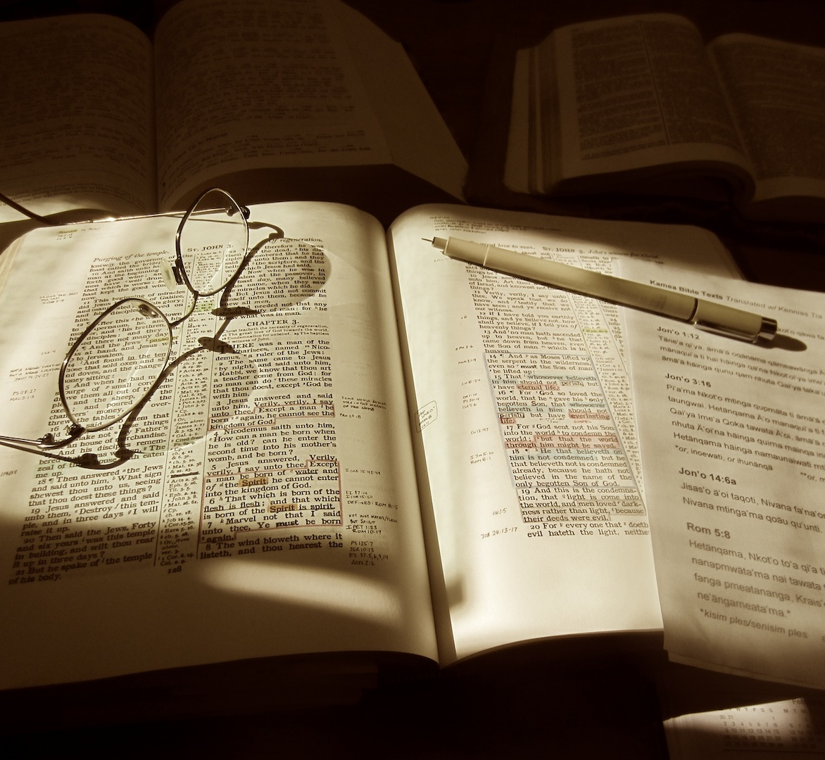 Daily study of the Word keeps us reminded of why we are here: The glory of God and the salvation of men. (Copyright, JMA, 2010)